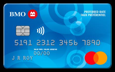 Card for Carte Mastercard BMO à taux préférentiel