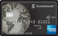 Card for Carte American Express Platine de la Banque Scotia
