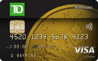 Card for Carte Visa Infinite TD Remises
