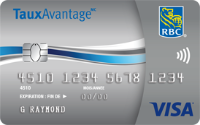 Card for Visa TauxAvantage RBC