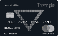 Card for World Elite Mastercard Triangle