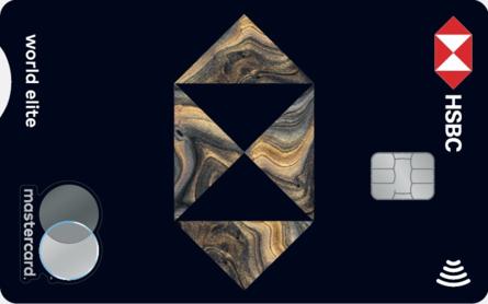 Card for Carte Mastercard HSBC World Elite