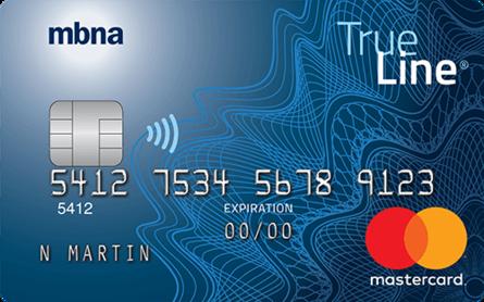 Card for Mastercard La Vraie Ligne Or MBNA