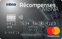 Card for Mastercard Platine Plus récompenses MBNA