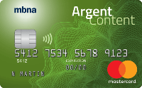 Card for Mastercard Platine Plus Argent Content MBNA