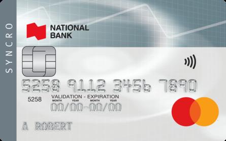 Card for Carte Mastercard Syncro