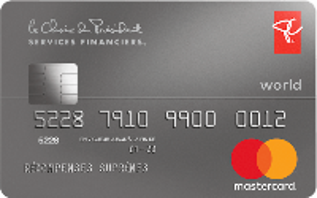 Card for World Mastercard PC Finance