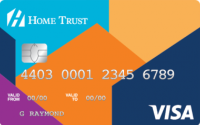 Card for Home Trust Secured Visa